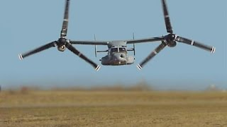 ONE OF A KIND US Military V 22 Osprey Tiltrotor Aircraft