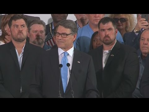 Former Gov. Rick Perry announces presidential bid