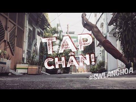 TẬP CHÂN TOÀN DIỆN - TẬP ĐÙI TRƯỚC - Street Workout Làng Hoa