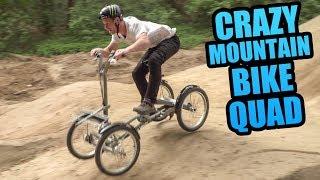 CRAZY MOUNTAIN BIKE QUAD - BIKE PARK SHREDDING