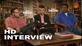 This is the End: Seth Rogen, Jay Baruchel and Craig Robinson Interivew