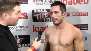 Tim Radcliffe post fight UCMMA 18 Interview