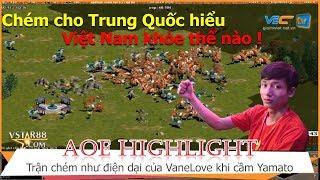 AOE Hightlight || VaneLove thể hiện độ trâu bò khi đối đầu với Phonecian của Tiểu Mã