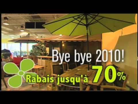 Meuble de jardin liquidation annuelle 2011 v1 youtube for Liquidation meuble de jardin laval