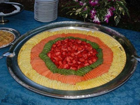 Composizione di frutta youtube - Centro tavola con frutta ...