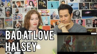 Download Lagu HALSEY - Bad At Love - REACTION!! Gratis STAFABAND