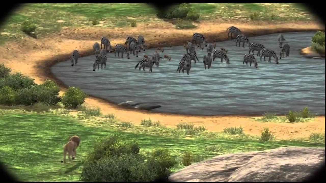 Game end - Afrika / Hakuna Matata - YouTube Lion Vs Elephant