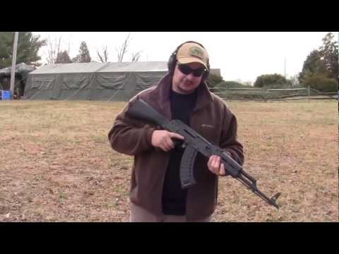 Slide Fire AK 47 Shooting