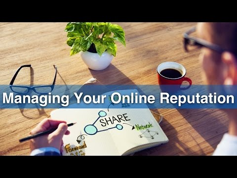 3. Managing Your Online Reputation - European Commission Live Event