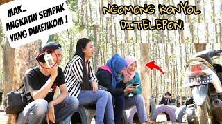 SUMPAH NGAKAK!! NGOMONG HAL KONYOL DI TELEPON Prank Indonesia