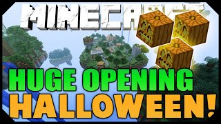 THE MEGA HALLOWEEN MYSTERY BOX OPENING! ( 17 Hypixel Halloween Boxes )