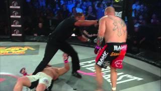 Bellator MMA Moment: Ron Sparks Knocks Out Mark Holata
