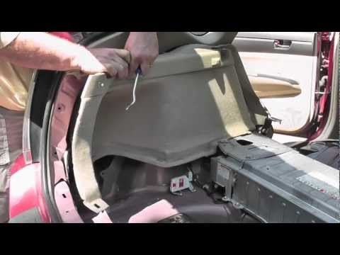 Toyota Prius Gen II Hybrid Battery Replacement - Part 1 of 3