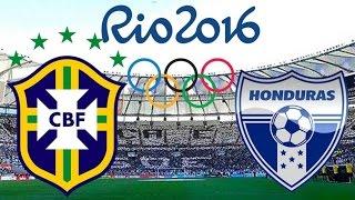 Brasil x Honduras - 17/08/2016 | Jogos Olimpicos Rio 2016 - Futebol Masculino [PES 2016]