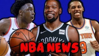 KEVIN DURANT WILL MAKE STATEMENT WITH NETS! KNICKS APOLOGIZE TO FANS! THE NEW KAWHI! | NBA NEWS