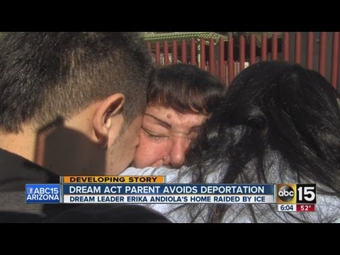Dream act parent almost deported