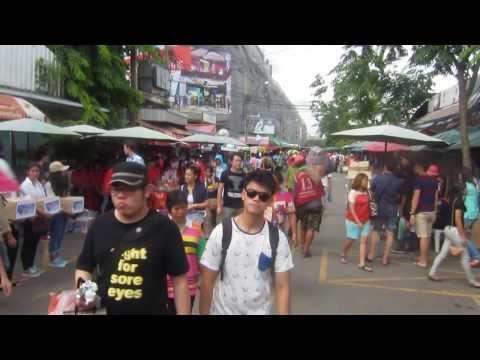 Bangkok Chatuchak Weekend Market 2013
