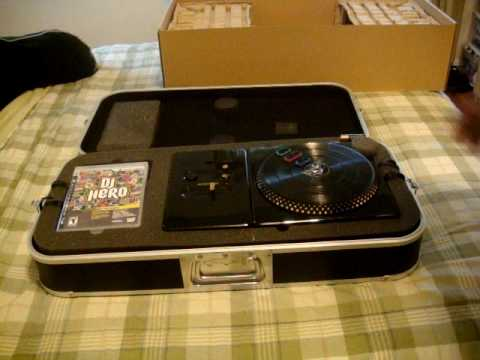DJ HERO: RENEGADE EDITION UNBOXING  PART1