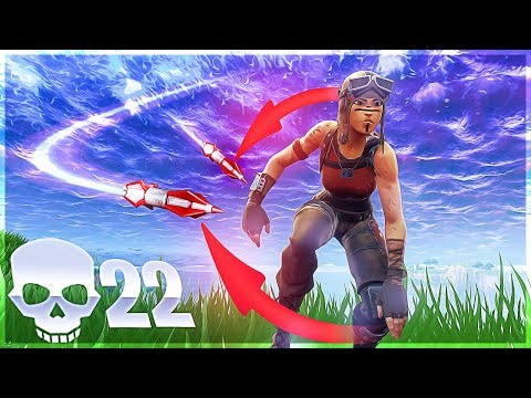 HOW not TO USE THE ROCKET LAUNCHER! SOLO 22K Game - Fortnite