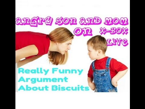 Funniest Rage On Xbox (mom   Mum And Son Raging Over Biscuits) [hd] video