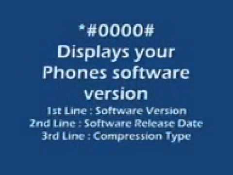 Nokia Secret Codes video