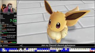 Pokemon Let's Go Eevee Any% Speedrun (3:27:46 RTA) [Former World Record]
