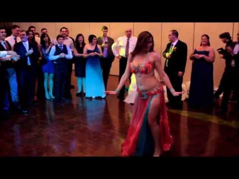 Belly Dance Show At A Wedding - Drum Solo Performance By Cassandra Fox video