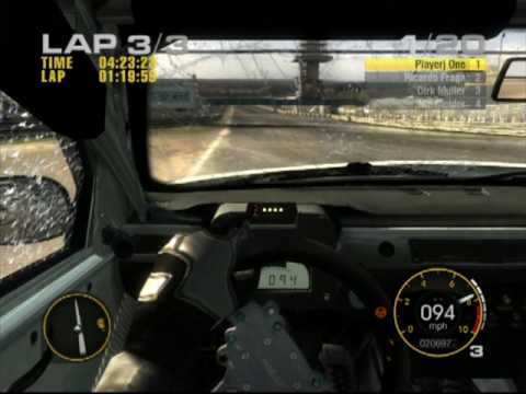 Ps3 Race Driver Grid Game Play
