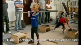 Olympic Weightlifting for Kids