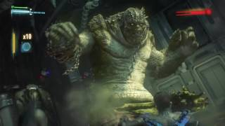BATMAN™: ARKHAM KNIGHT Killer Croc Boss fight |DLC |No Commentary | PS4