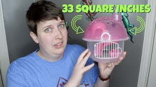 I BOUGHT THE SMALLEST HAMSTER CAGE IN THE WORLD