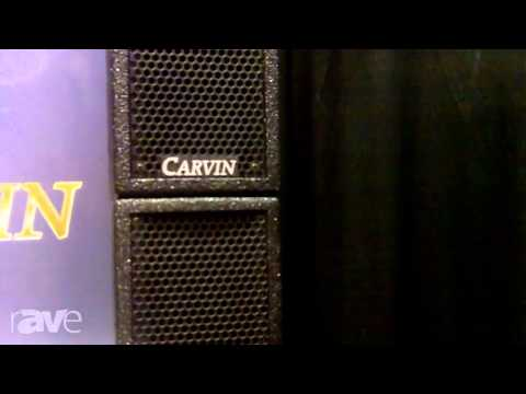 InfoComm 2013: Carvin Displays The TRx3903