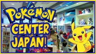 Pokemon Heaven! HUGE Pokemon Center in Japan Vlog