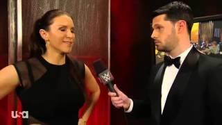 Stephanie McMahon Beats Up Tom Phillips