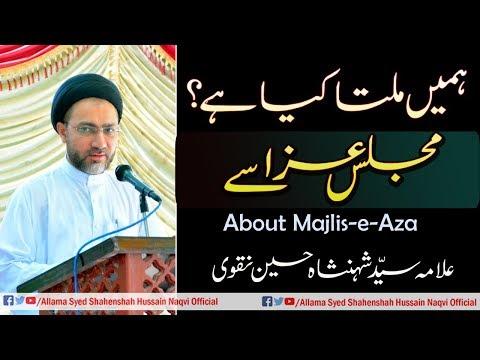 Humey milta kya hain Majlis Aza | Farshe Aza se By Allama Syed Shahenshah Hussain Naqvi