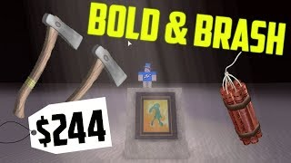 How To Get The Bold and Brash With Hatchets! Roblox Lumber Tycoon 2