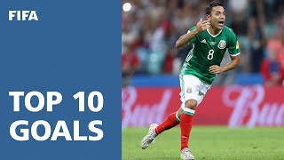 TOP 10 GOALS: FIFA Confederations Cup 2017 [OFFICIAL]