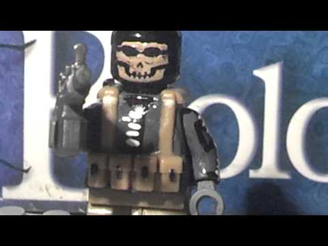 Custom Lego Mw2 minifigure reviews!