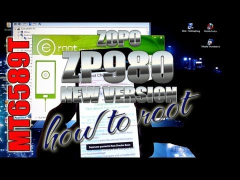 Rooting Tutorial - How to Root MT6589T @1.5GHz - 卓普 - ColonelZap