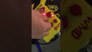 WMD Geiger Counter pedal demo