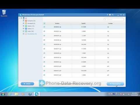 Cómo recuperar archivos borrados / contactos / SMS / Videos / Música / Fotos de HTC?