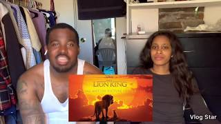 Beyoncé & Donald Glover - Can You Feel The Love Tonight (Reaction)