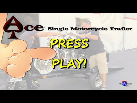 Ace - Motorcycle Trailer