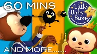 Sing a Song of Sixpence | Plus Lots More Nursery Rhymes | 60 Minutes Compilation from LittleBabyBum!