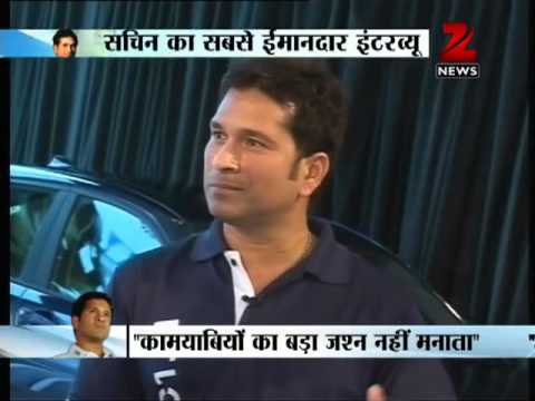 I am not God, I just play cricket, says Sachin Tendulkar, in an exclusive interview