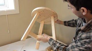 Building a 3-legged stool