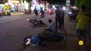 Bình Dương, tai nạn liên hoàn giữa 3 xe máy trên đường Nguyễn Văn Tiết