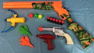 Toy Guns Box of Toys for Kids Toy Weapons Learning Colors