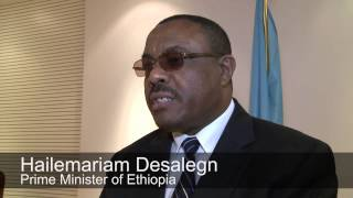 Remarks by the Prime Minister of Ethiopia at FAO headquarters.