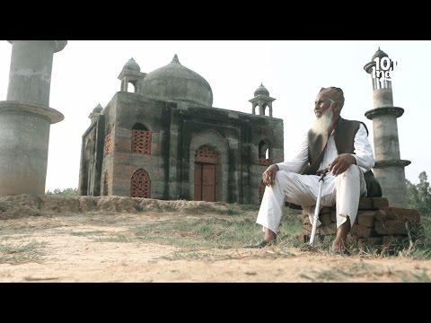 Meet the retired postmaster who built a Taj Mahal for his beloved wife